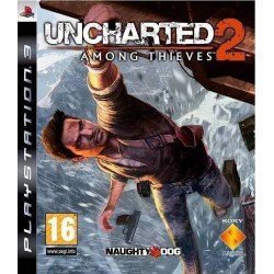 UNCHARTED 2 AMONG THIEVES PS3 USED
