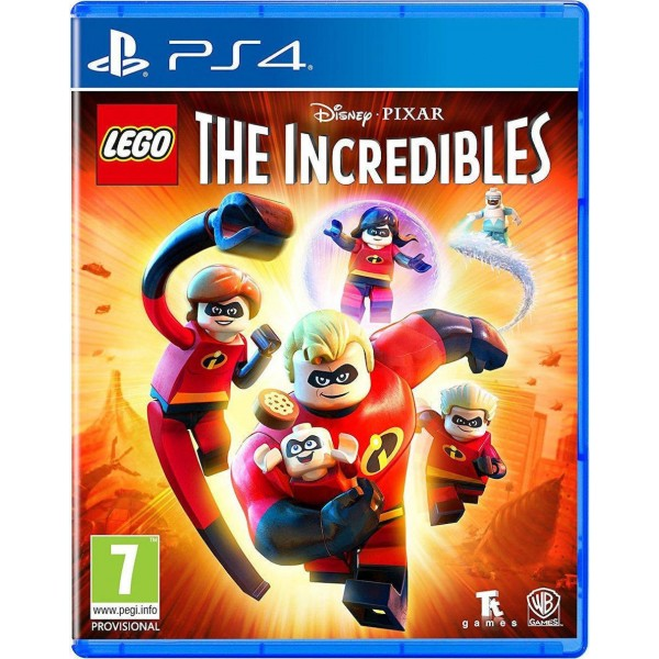 LEGO The Incredibles PS4 NEW
