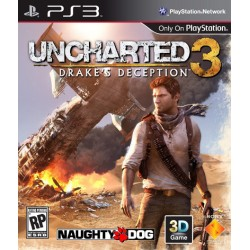 Uncharted 3 Drake's Deception PS3 GR PS3 USED