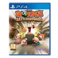 Worms Battlegrounds PS4 USED