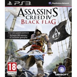 ASSASIN'S CREED IV BLACK FLAG PS3 USED