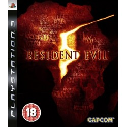 RESIDENT EVIL 5 PS3 USED