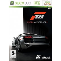 FORZA MOTORSPORT 3 X360 USED