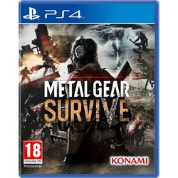 Metal Gear Survive PS4 NEW+ PRE-ORDER BONUS SURVIVAL PACK